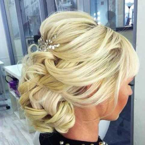 25 Einzigartige Hochzeit Frisuren 11