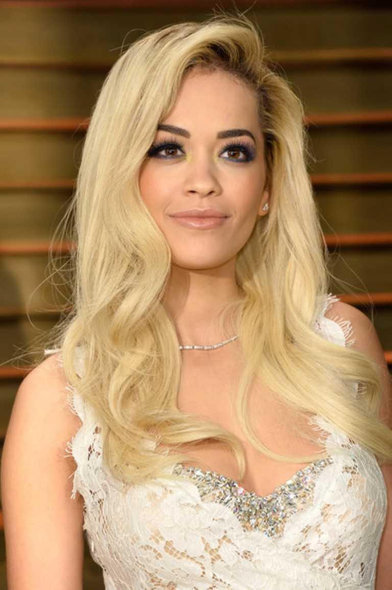 Chic Celebrity gewellte lange frisuren und ihrem aussehen Raident Make-up-13