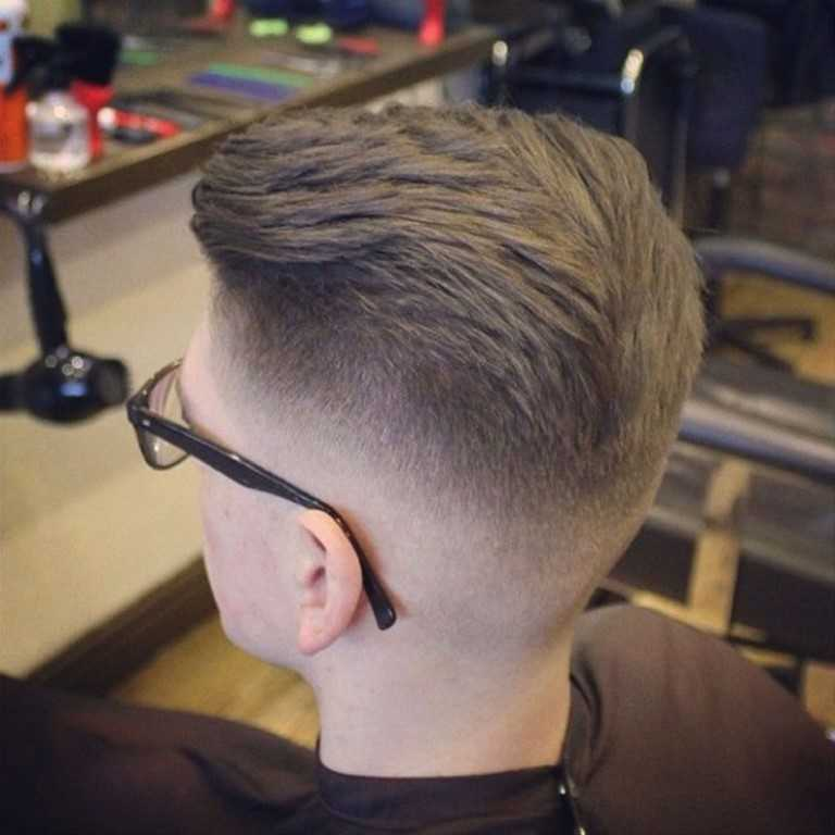 3. Mitte Der Fade Haarschnitt