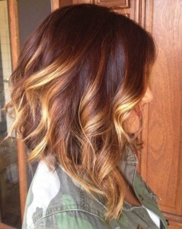 15) Kontrastierende Blonde Highlights