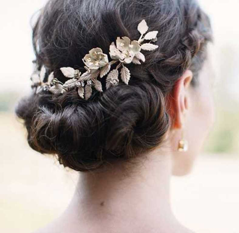 18. Hochzeits-Haar Hochsteckfrisur Stil