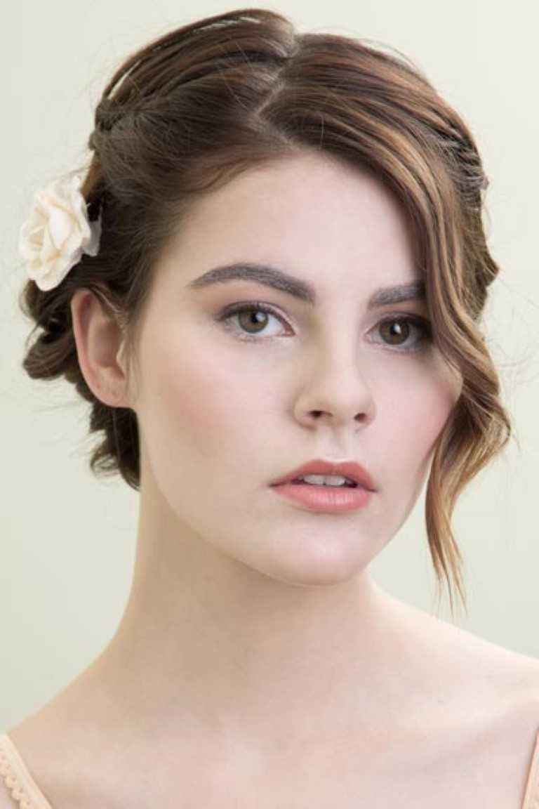 20 atemberaubende Hochzeit Frisuren für Kurze Haare-20