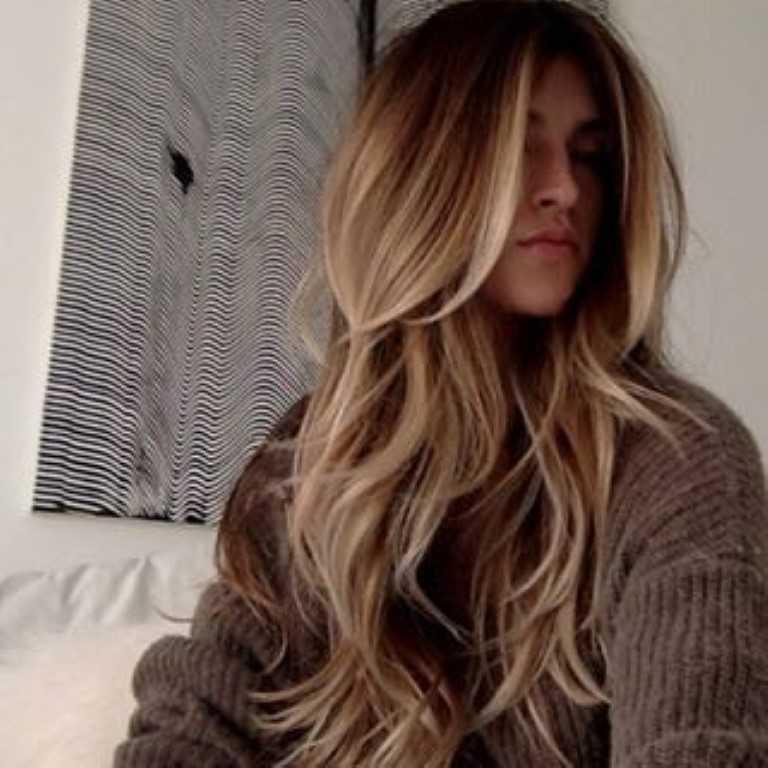 Haarschnitt lange dicke haare