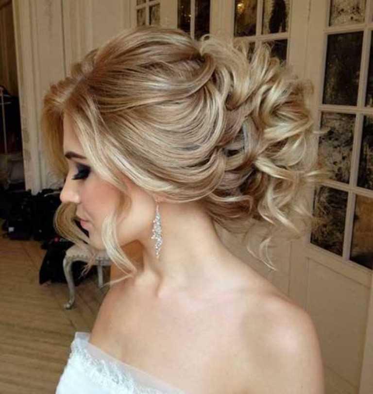 Frisur für Lange Haare für Hochzeiten