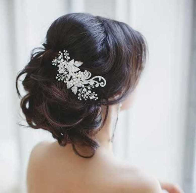 Hochzeit Frisur für Langes Haar
