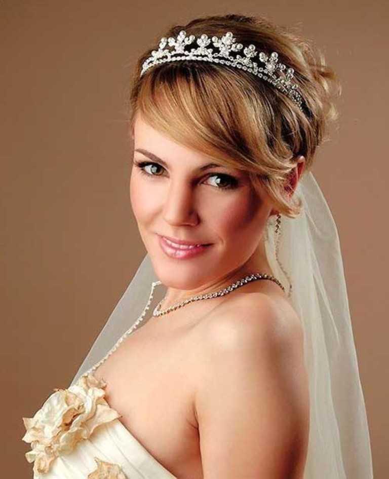 Hochzeit frisuren mittellange haare mit schleier