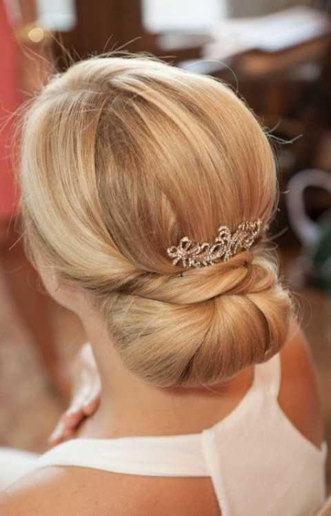 Braut-Elegante Hochsteckfrisur