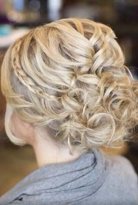 Formale Hochsteckfrisur Frisur für Lange Haare