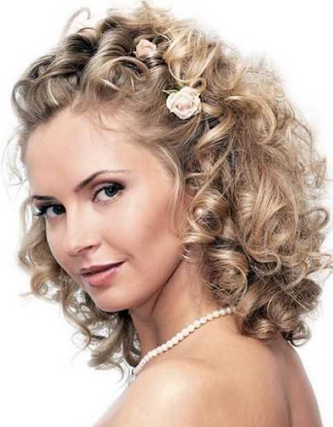 Natürliche Curly Medium Frisur
