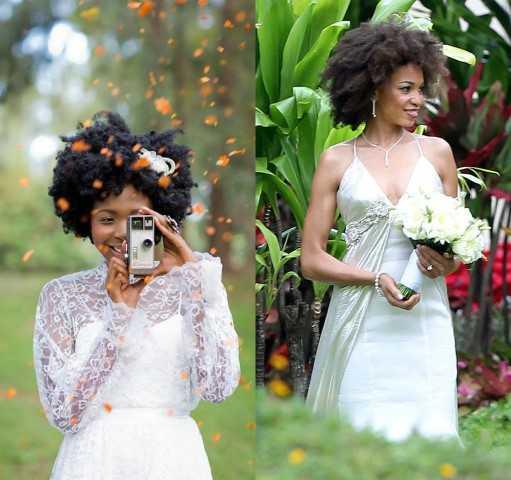 Afrikanische Frauen für die Ehe
