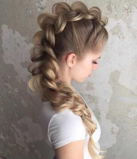 30 Wunderschöne Geflochtene Frisuren für Lange Haare-7