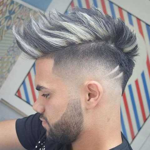 Mohawk Fade Frisuren Trends