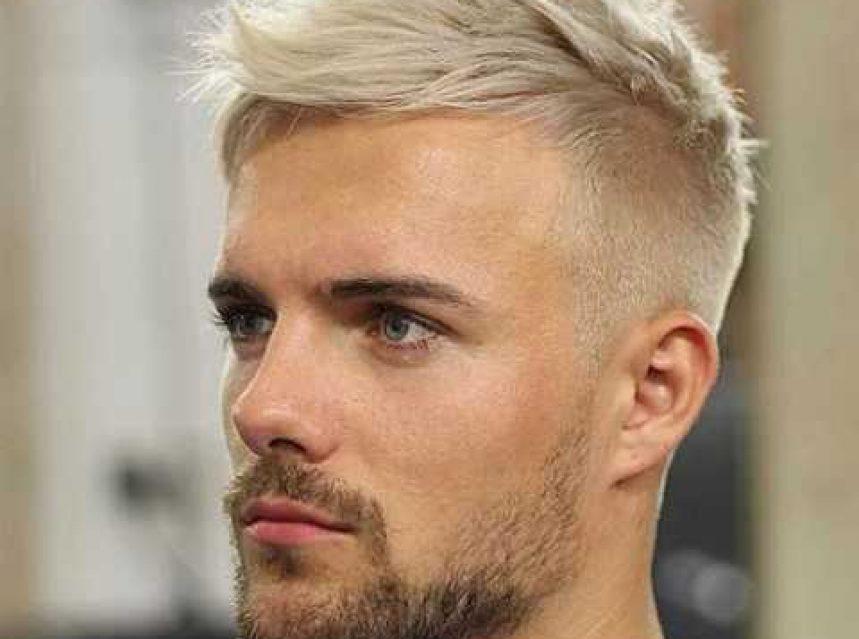Gebleichte Haar Fur Manner Frisuren Trends