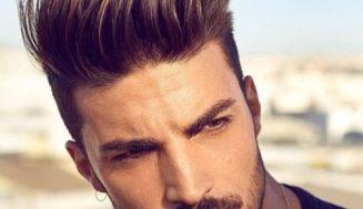 Pompadour Fade-Haarschnitte