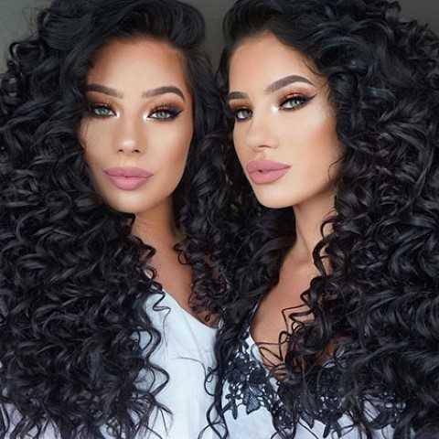 Dauerwelle fur lange dicke haare – Moderne Frisuren