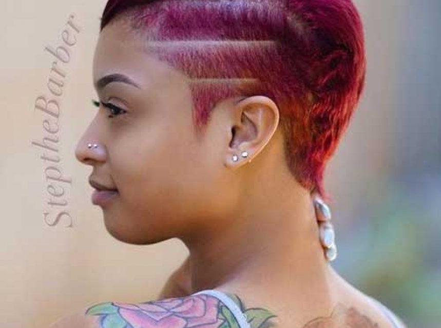 Einfach Kurze Frisuren Fur Schwarze Frauen 2019 Frisuren Trends