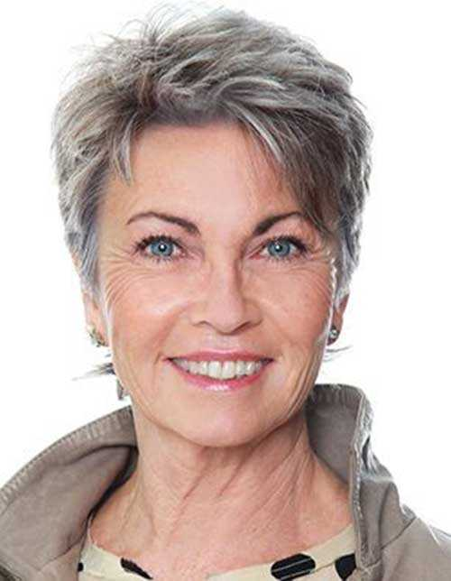 Kurzen Haarschnitt für Ältere Frauen-10