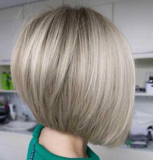 Kurze Ashy Blonde Frisuren-14