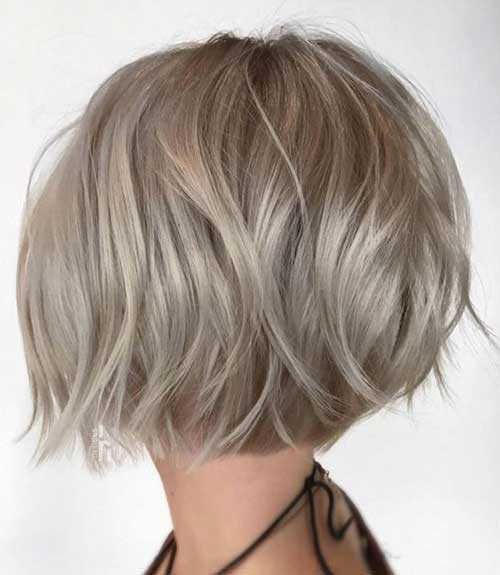 Kurze Asche Blonde Frisuren-19