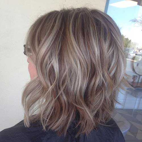 Kurze Asche-Blondine Feine Frisuren-8