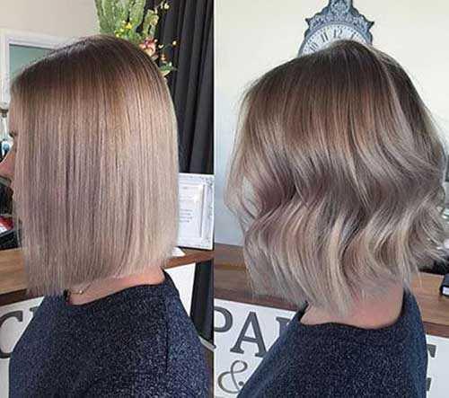 Kurze Asche Blonde Frisuren-9