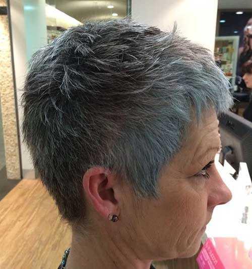 Kurze Haarschnitte für Ältere Frauen