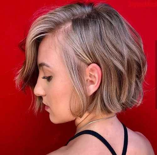 Kurze Bob Haarschnitte für Frauen-12