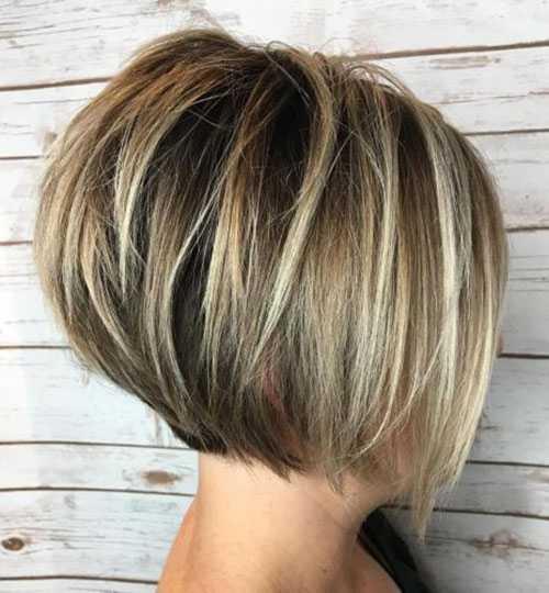 Kurze Bob Haarschnitte für Frauen-13