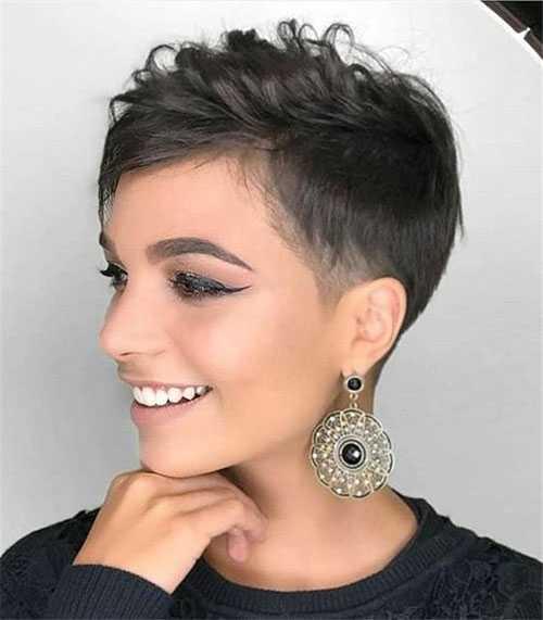 Undercut Edgy Pixie Haarschnitte-14