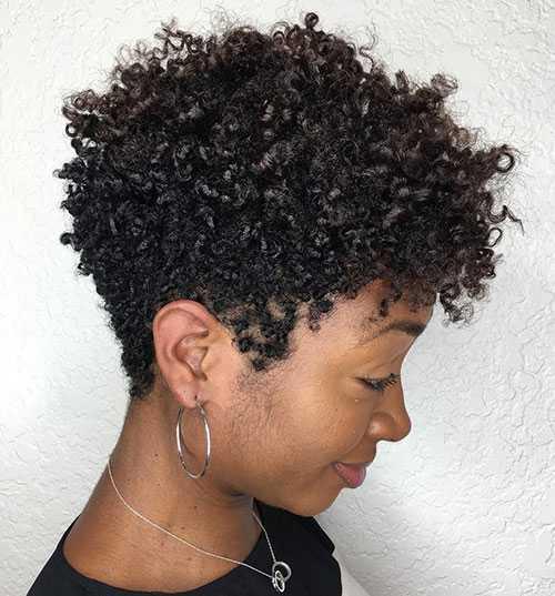 Natürliche Frisuren für Kurze Haare-17