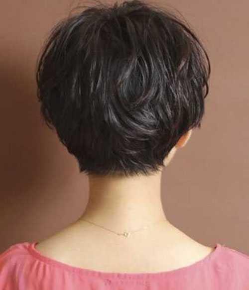 Kurze Haarschnitte für Frauen mit Dicken Haaren-18