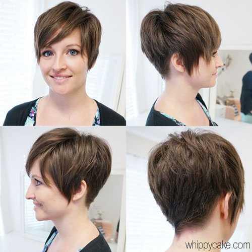 Layered Edgy Pixie Haarschnitte-6