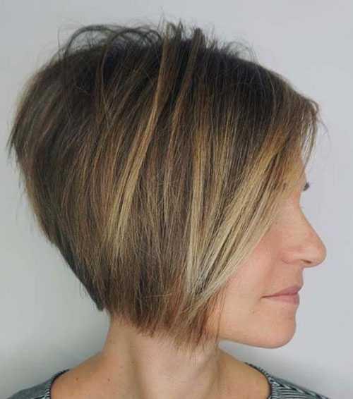 Kurze Bob Haarschnitte für Frauen-7