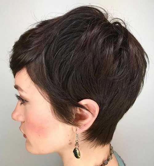 Kurze Haarschnitte für Frauen mit Dicken, Groben Haar-8