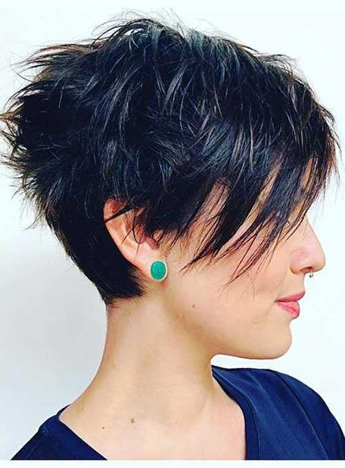 Edgy Pixie Haarschnitte