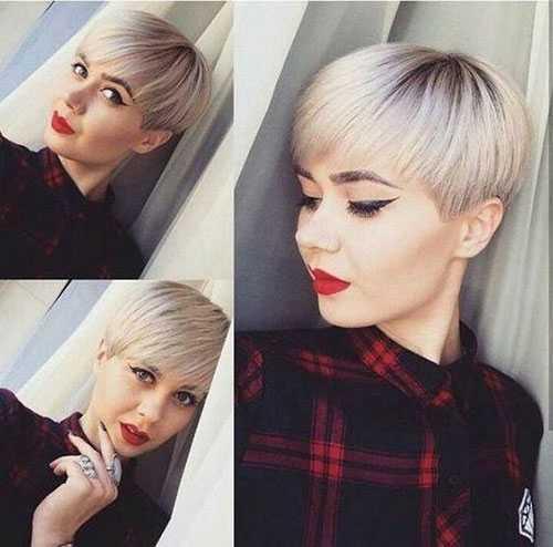 Pixie Stil Haarschnitte für Feine Haare