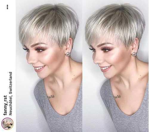 Kurze Pixie Haarschnitte für Feine Haare