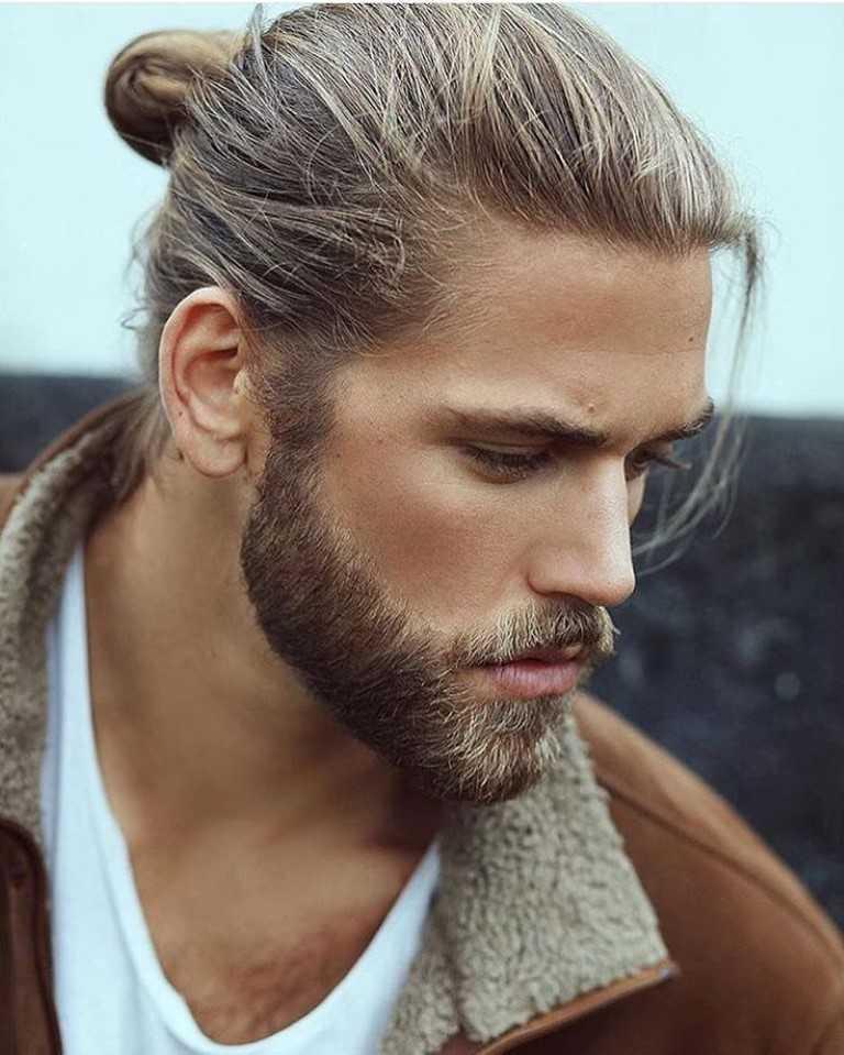16 verschiedene art der Bun frisuren für männer-10