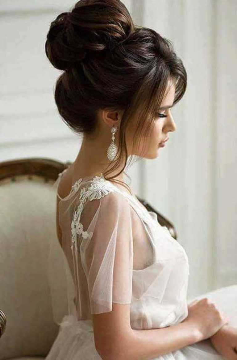 Hochzeit Frisuren für auffällige Looks-18