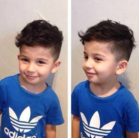 Frisuren fur kleine jungs mit locken