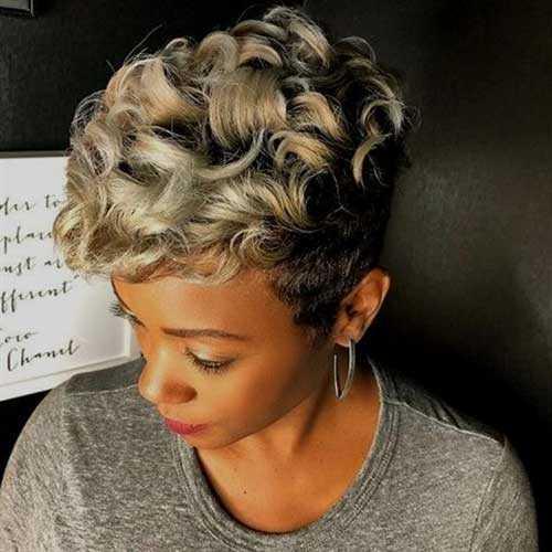 Pixie Haarschnitte für Schwarze Frauen-21