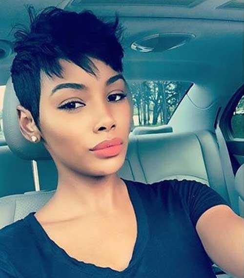 Pixie Haarschnitte für Schwarze Frauen